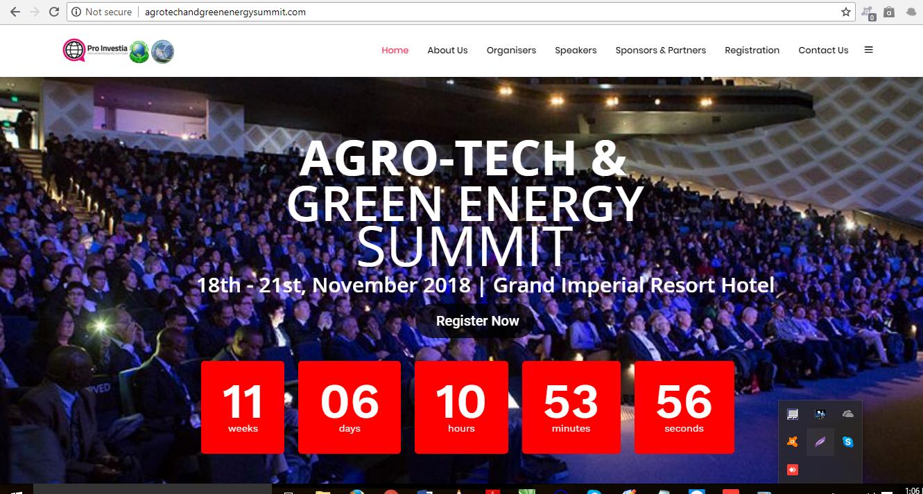 Agro Tech & Green Energy Summit – Uganda